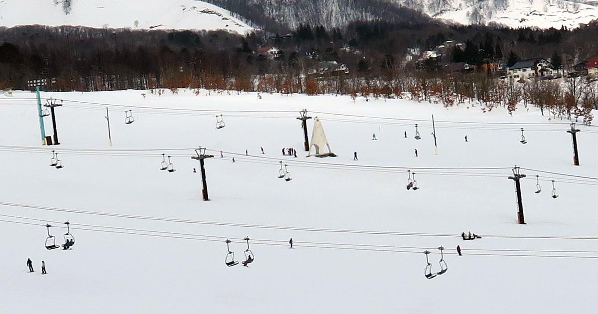 鐘の鳴る丘ゲレンデの鐘
